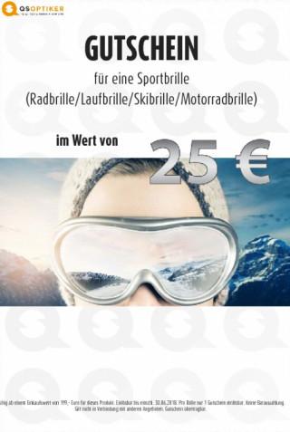 Gutschein Sportbrille