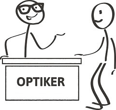 Brillenpass Beratung Optiker
