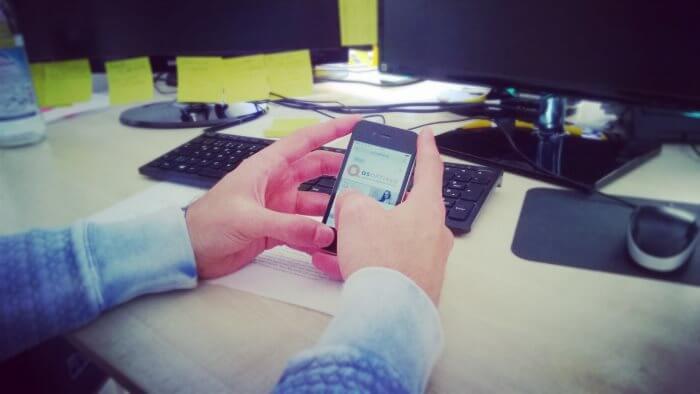 Smartphone Kurzsichtigkeit